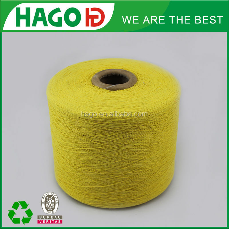12S polyester cotton yarn regenerated yarn for knitting blended tricot yarns