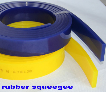 Best flexible silk screen printing rubber squeegee