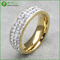 Engagement Ring Invisible Setting Golden Dubai Wedding Rings