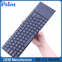 Super thin 3.0 GHZ Mini bluetooth kleyboard touch wireless keyboard for ipad