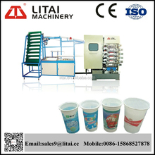 Plastic cup and bowl printing machine