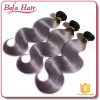 fast delivery hair extensions for black women /cheap brazilian hair bundles/grey human hair weaving