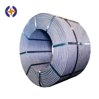 Metal Building Material 1860Mpa 12.7mm Steel PC Strand Wire