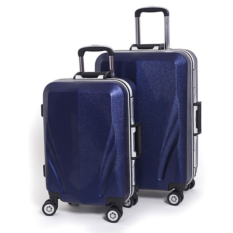 3 pieces PC luggage set by dongguan China traveling luggage factory