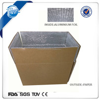 insulation aluminum foil food box packaging