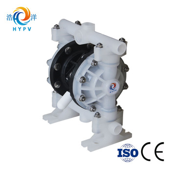 "HY15/20-PP 1/2"" Pneumatic Diaphragm Pump for chemical chocolate honey"