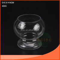 GOBLET CLEAR GLASS FISH TANK ON HOT SALE