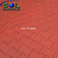 Wear Resistant Rubber Mat Rubber Floor