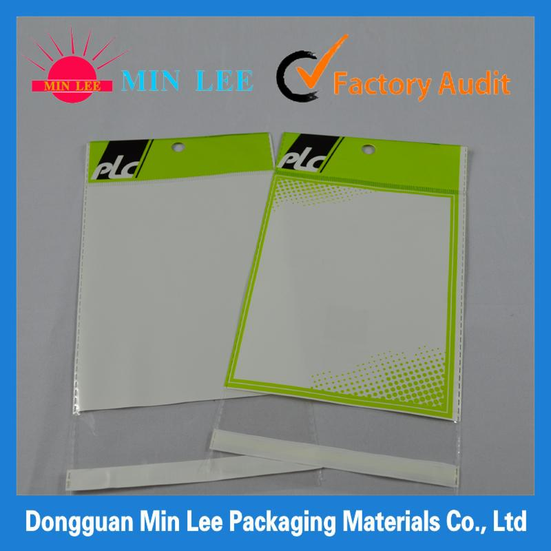 bopp bags with self adhesive tape seal