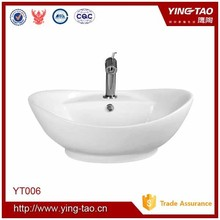 shallow roud basin counter with top basin fancy wash basin