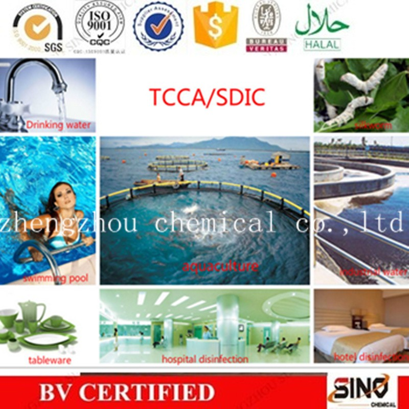 Swimming pool tcca 90 water treatment tcca