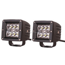 4x4 accessories 18w led driving light 18w spot or flood light heavy duty off road led light led flush mount