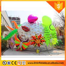 Inflatable tent, inflatable exhibition tent, inflatable art dome
