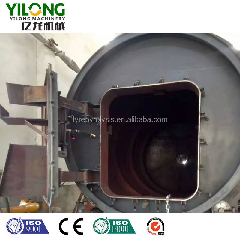 20 ton pyrolysis plant with 2 years warranty