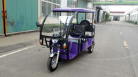 Battery Power Supply and 30-50km/h Max Speed Electric tricycle