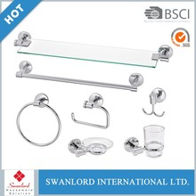 Hot China Products Wholesale modern wall mount bathroom accessories set