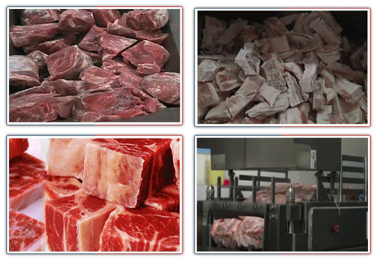 Block Frozen Meat Block Cutting Machine