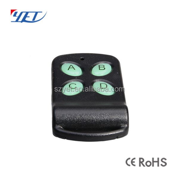 RF learning code remote control transmitter for garage /door open /shutter etc