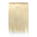Chinese Virgin Hair Halo Extensions With Lace 20inches Blonde #613 Flip Hair