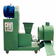 Professional jute sticks sawdust briquette charcoal making machine price