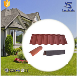 Cheap Price&High Quality Sand Coated Metal Roofing Tile