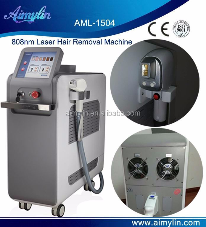 Factory direct sale Safe&painless and efficient 808nm diode laser hair removal machine