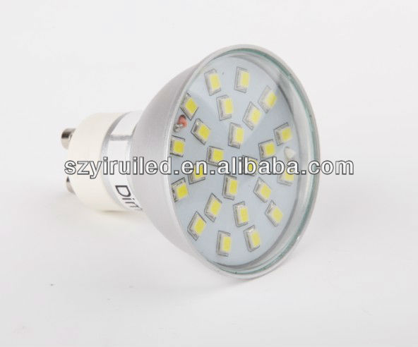 led light jewelry display case warm white 4.5w 400lm smd 2835 gu10 led spotlight 3 years warranty