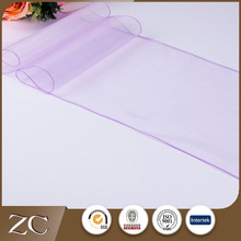 Hot selling cheap colorful luxury purple lace table runner