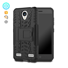 fit perfectly logo printed flip PC mobile phone cases for zte blade a520 back cover