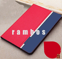 Jeans Grain Flip Folio Stand PU Leather Tablet Cover Case for iPad air 2 for iPad 6