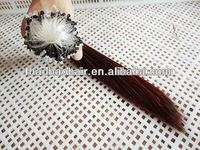 hot selling wholesale price virgin remy brazilian micro bead ring loop hair extensions