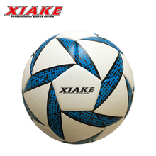 Logo Customized Pvc Material Thermal Bonded Street Soccer Ball
