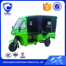 New Three Lines Seat Semi-closed Body Type passenger motor tricycle