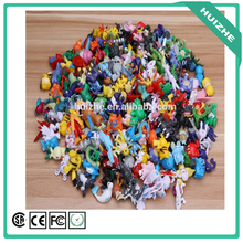 Factory direct cheap price wholesale 144 designs pokemon action figures