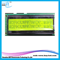 5V Hotting Application Electronic Supplies 1/16 Duty LCM LCD Modules