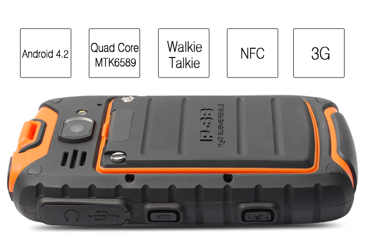 Custom Ip68 Android Best Military Grade Cell Phone Rugged ...