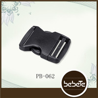 2 Inch flat plastic side release buckle for bag, backpack
