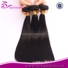 Human hair factory price supply 100% virgin human hair weft mindreach hair