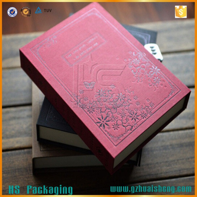fancy quality custom pu leather cover combination lock diary