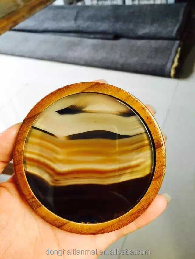 Wholesale Natural Agate Coaster