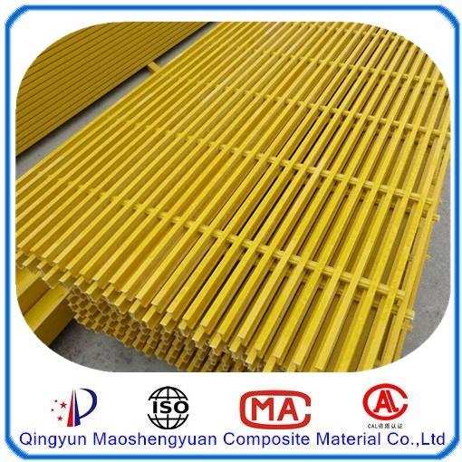 Glass fiber grille platform/floor gully grating/car wash grate floor