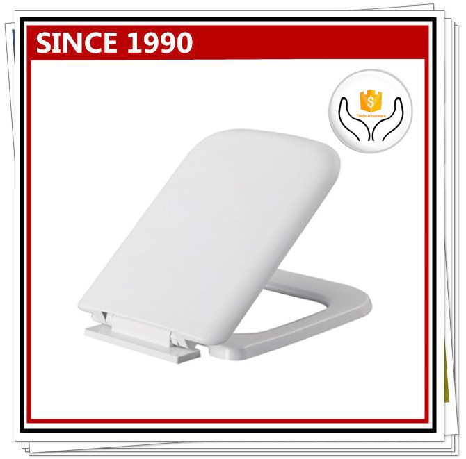 M048 PP plastic toilet seat cover hinges soft close toilet seat hinges with square shape