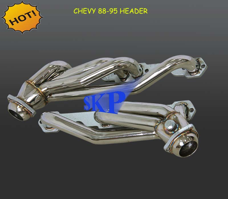 Sport Manifold Exhaust Header for Chevy GMC 88-95 K1500 K2500 Pickup 5.0L 5.7L