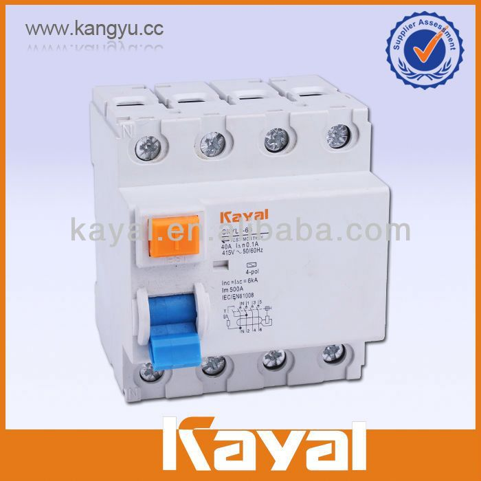 kayal elcb rccb rcb rccb current rating