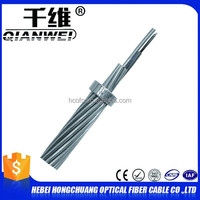 OPGW 96 core armoured fiber optic cable