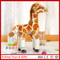 Stuffed Plush Simulation Giraffe Plush Giraffe Toy Simulation Plush Giraffe