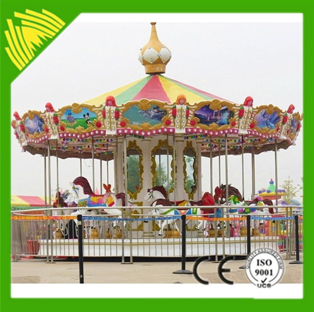 hot sale indoor merry go round kids carousel electric merry-go-round sale (CE certificate)