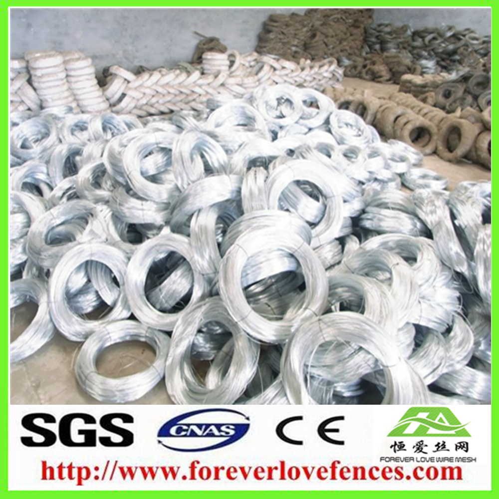 Anping low price electro galvanized iron wire for making machine