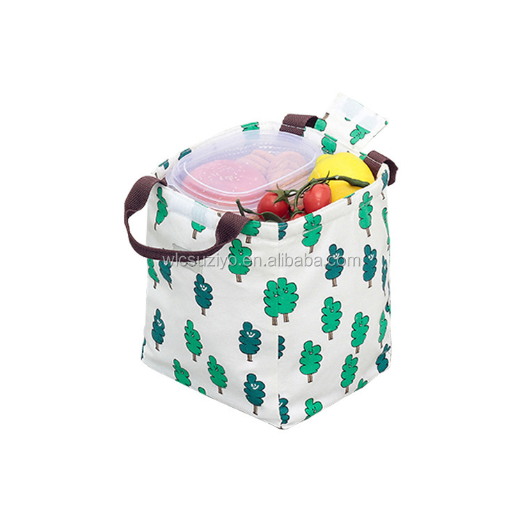 Wholesale Animal Style Recycle Waterproof Oxford Cloth Insulated Lunch Cooler Tote Bag For Women Men Students