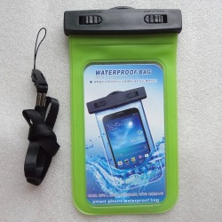 2015 hot sale Cheap waterproof PVC waterproof phone bag with string